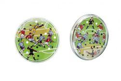 Kopaná / Futbal kopaná hra hlavolam plast priemer 9cm RM_48001306