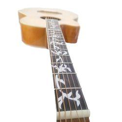 Наклейка на гитару GR4