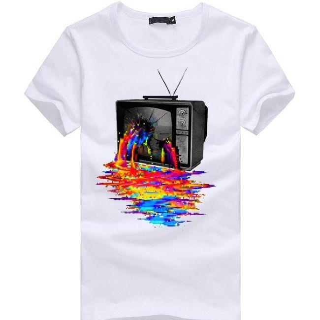 Мужская футболка с короткими рукавами Bardo 1