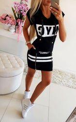 Дамска рокля - черна LT_IMD21231-1