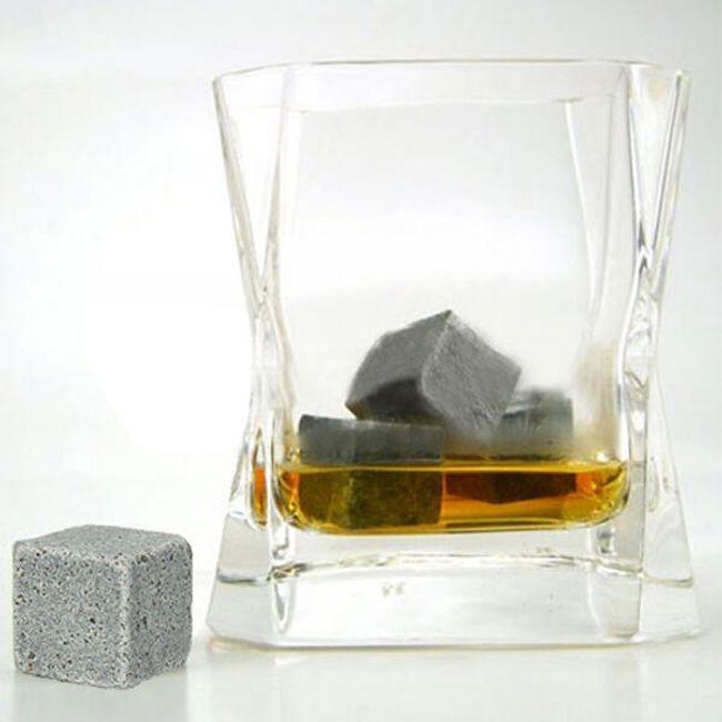 Chłodzące kamienie do napojów, komplet 8 sztuk 1