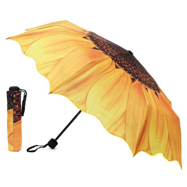 Esernyő napraforgó motívummal 1