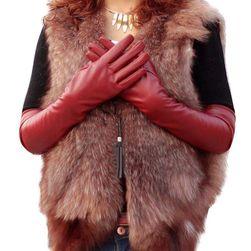 Dlouhé zimní rukavice