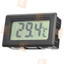 Termometr z wyświetlaczem LCD wyposażony w czujnik zewnętrzny