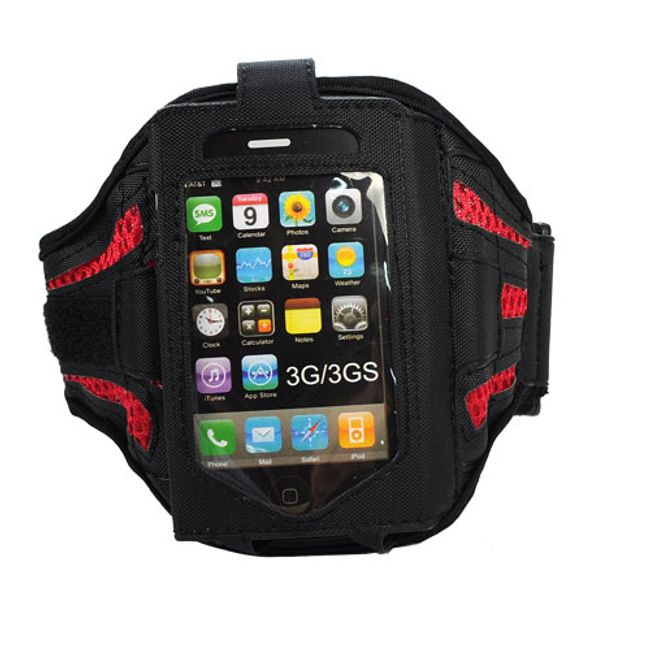 Pouzdro na ruku pro iPhone a iPod - červené 1