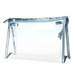 Transparentní voděodolná kosmetická taška