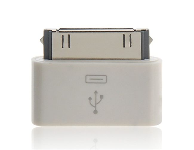 Redukcja 30Pin Port na Micro USB - iPhone, iPod, iPad 1
