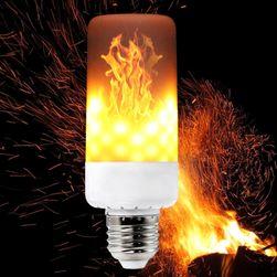 LED izzó láng hatással - E27, E26, E14, E12 a B22