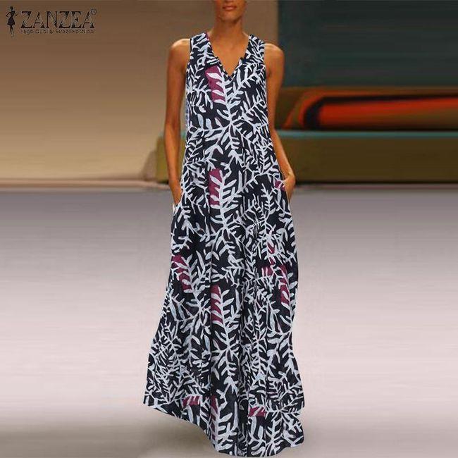Dámské maxi šaty Zeola 1