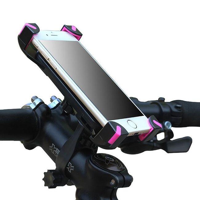 Univerzalno držalo za telefon ali GPS za kolo - 2 barvi 1