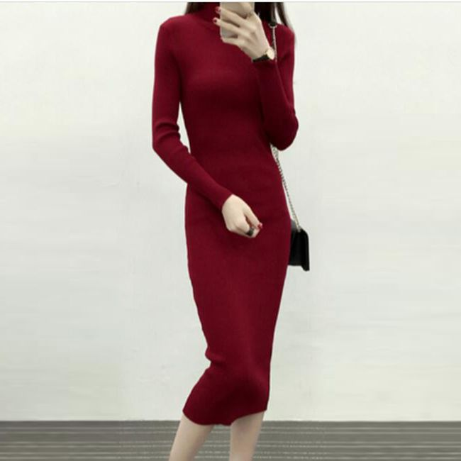 Dámské šaty s dlouhým rukávem Sheena 1