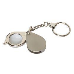 Mini lupa na klucze