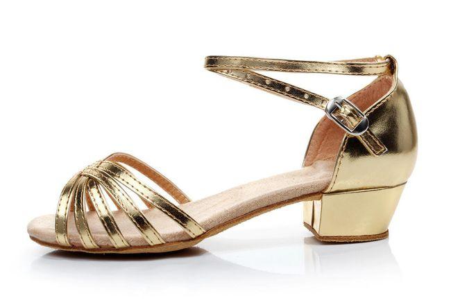 Taneční boty s podpatkem - F34 1