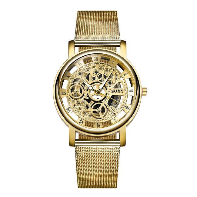 Dámské hodinky ve 2 barvách - elegantní 1
