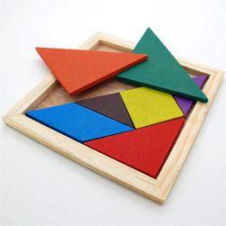 Деревянная головоломка- Танграм