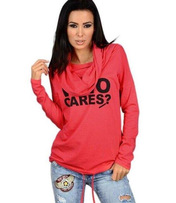 Női kapucnis pulóver Bitsy
