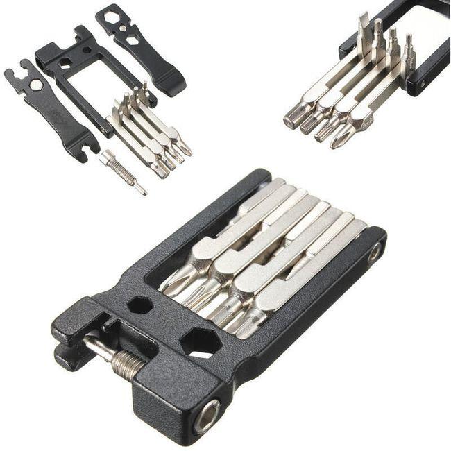 Multifunkční nástroj pro opravu a údržbu jízdního kola 1