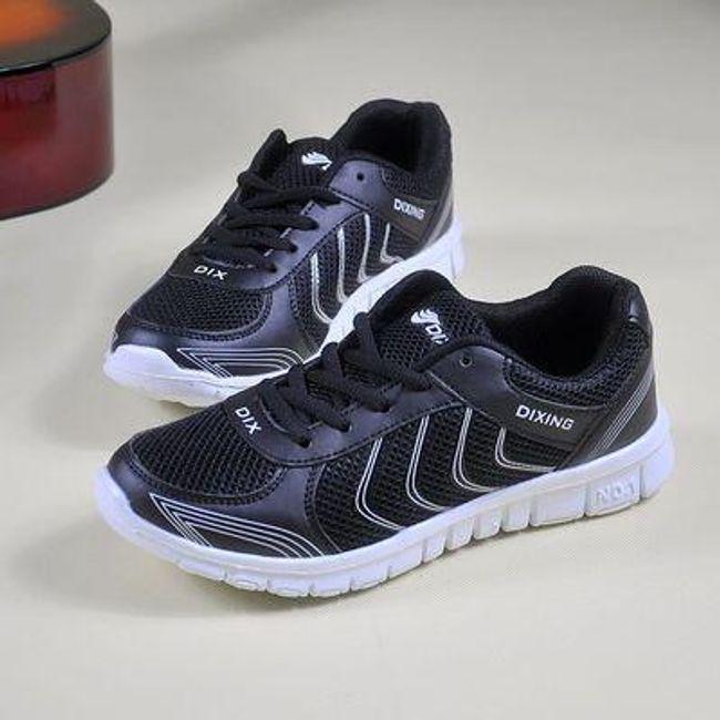 Dámské sportovní boty - Černá-42 1