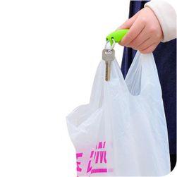 Držák na tašky s klíčenkou - 7 barev