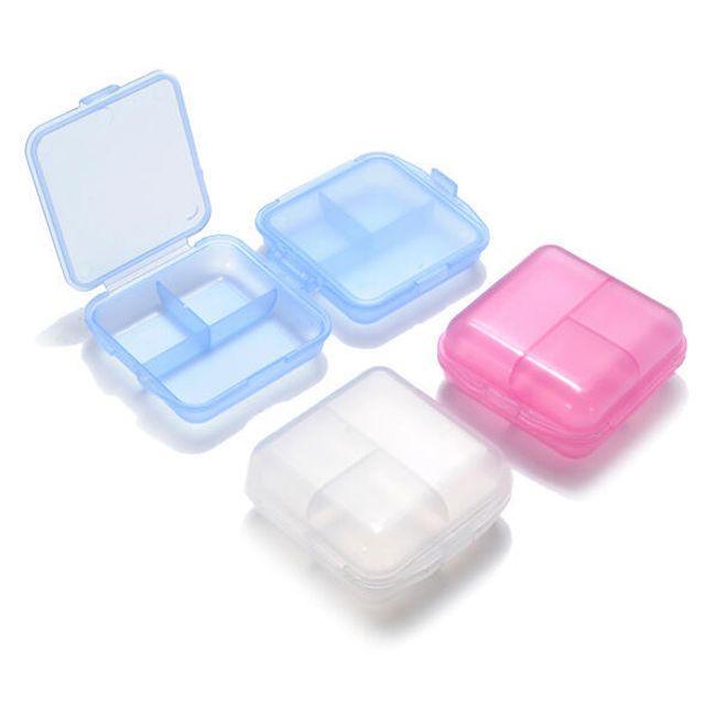 Pudełeczko na lekarstwa - 6 przegródek, 5 kolorów 1