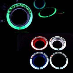 Svetleći kružić oko prekidača za paljenje auta