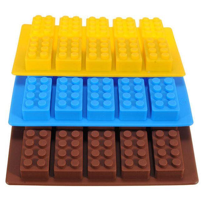 Силиконова форма - строителен комплект 1