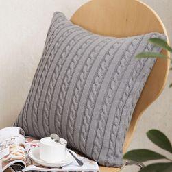 Față de pernă tricotată - 5 variante