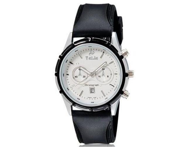 Pánské hodinky Valia v černé barvě 1