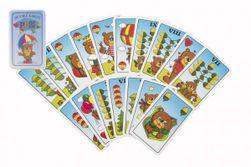 Jednogłowa gra planszowa dla dzieci Raining - karty w plastikowym pudełku 7x11x2cm RM_26074296