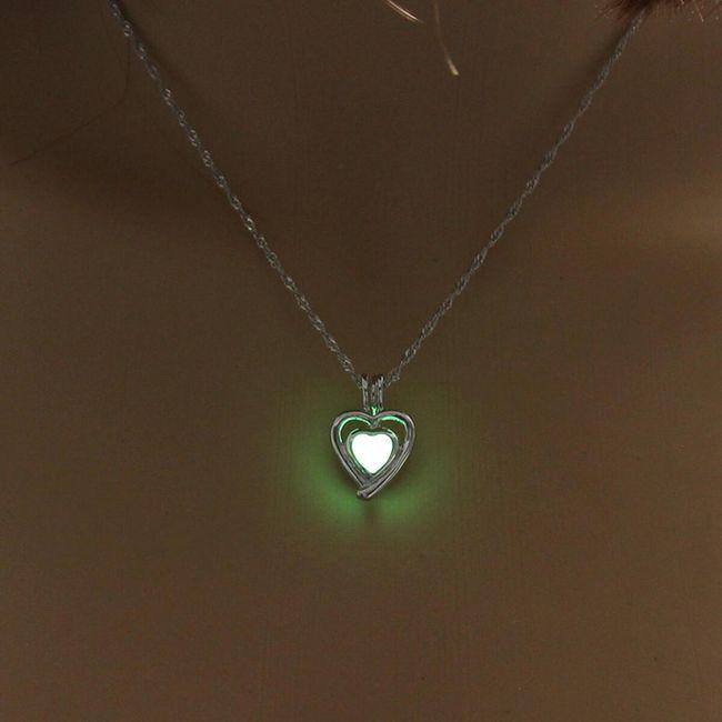 Ожерелье, светящееся в темноте Еддие 1