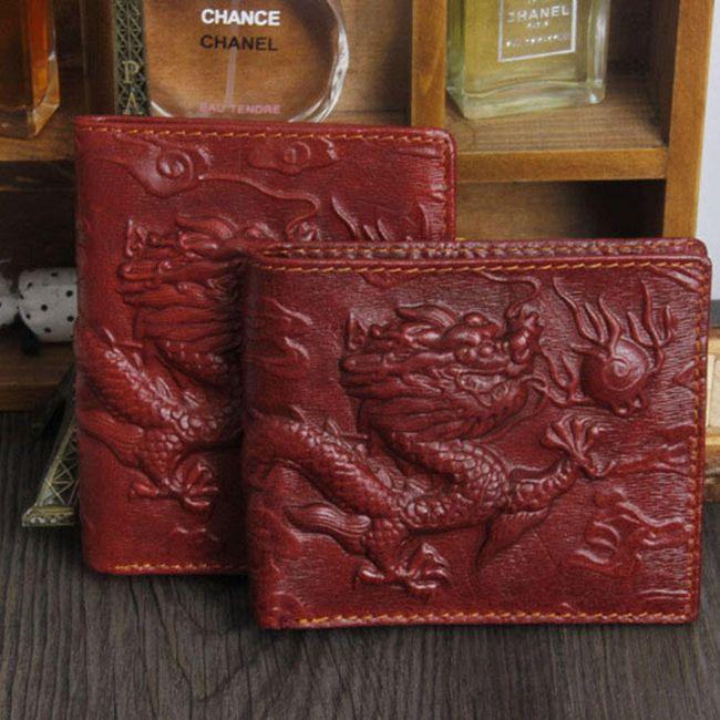 Sárkányos férfi pénztárca - 3 szín