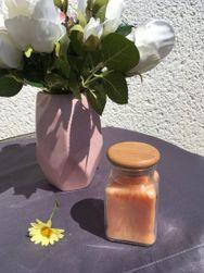 Świeca zapachowa - pomarańczowa IV_vonnypomeranc
