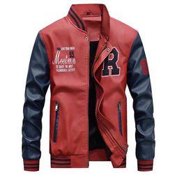 Férfi kabát Ashton - 4 változat Piros-M / L
