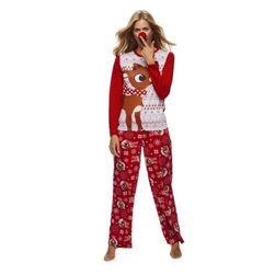 Rodinné vánoční pyžamo