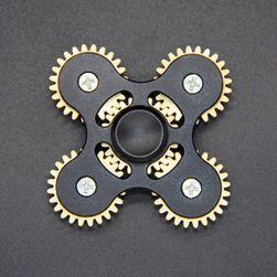 Antystresowa zabawka - fidget spinner z kołami zębatymi - 6 kolorów