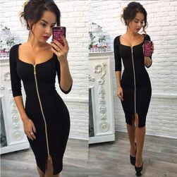 Fermuarlı elbise 1-beden 4