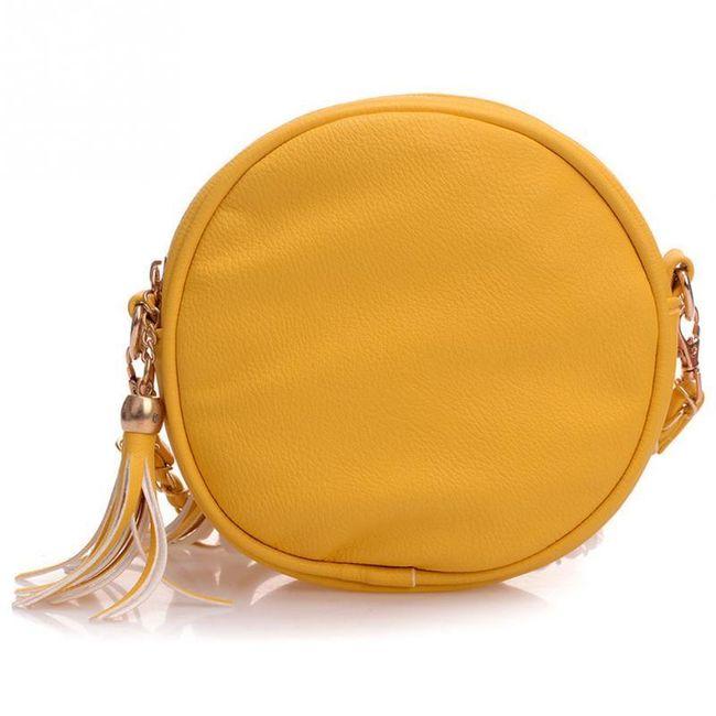 Egyedi kör alakú táska - több szín
