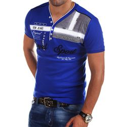 Мужская футболка с короткими рукавами Kaysen