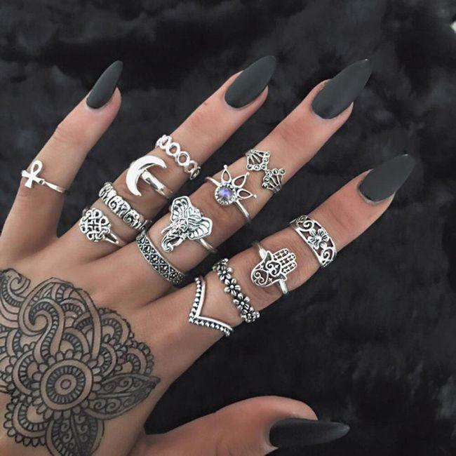 Set prstenova - 13 komada 1
