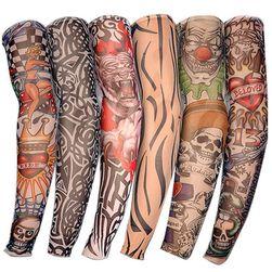 Falešné tetování - elastický rukáv - 6 ks