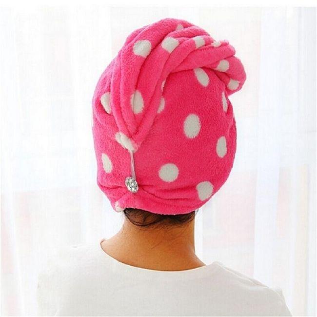 Специальное полотенце для волос B04778 1