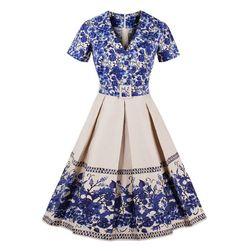Vintage ruha övvel - 7 méret