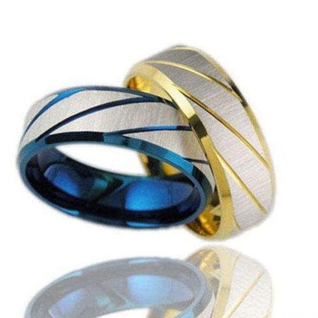 Férfi titángyűrű - 4 méretben 1