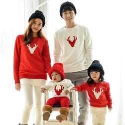 Božićna pidžama za celu porodicu