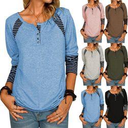 Ženska majica dugih rukava EA_651343414450