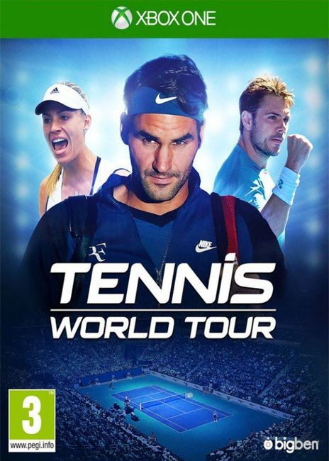 Gra (Xbox One) Tennis World Tour 1
