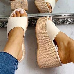 Papuci de dama cu talpa inalta HF58