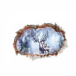 Fali matrica - szarvas télen