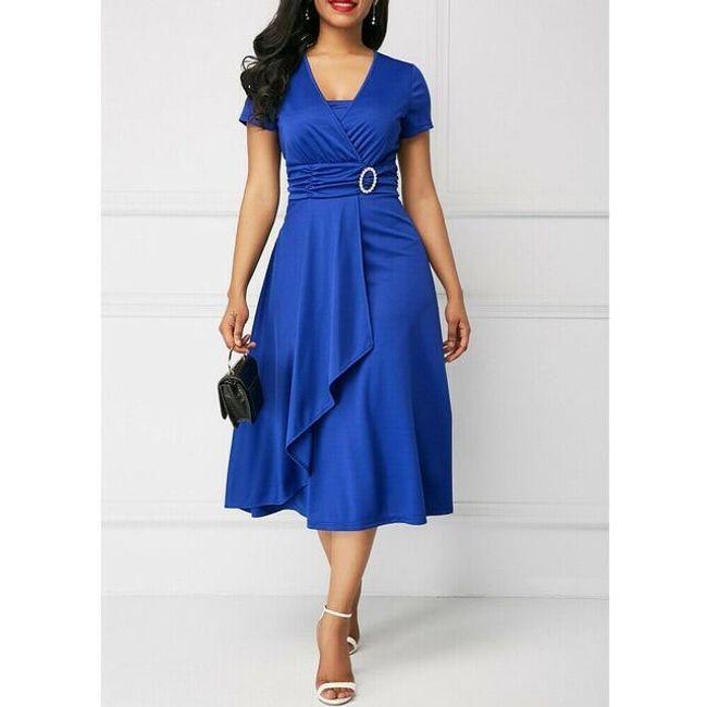 Kısa kollu bayan elbise Emraha 1