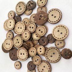Ahşap düğmeler DK6